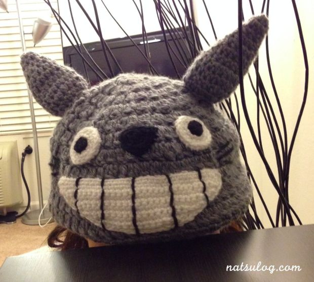 Totoro is staring at you...?