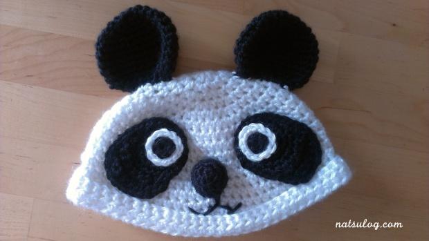 A pand beanie