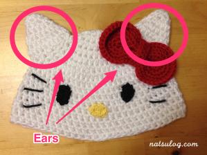Step 2 : Ears