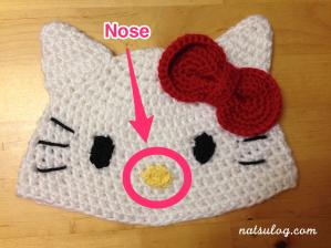 Step 4 : Nose