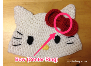 Step 6-2 : Bow (Center Ring)