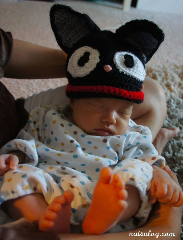 Jiji on a baby