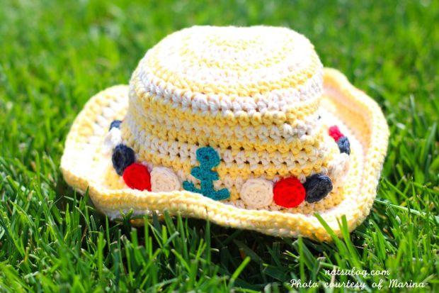 Marine Style Sun Hat