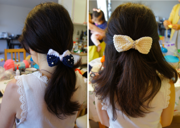 2ways of hair bow