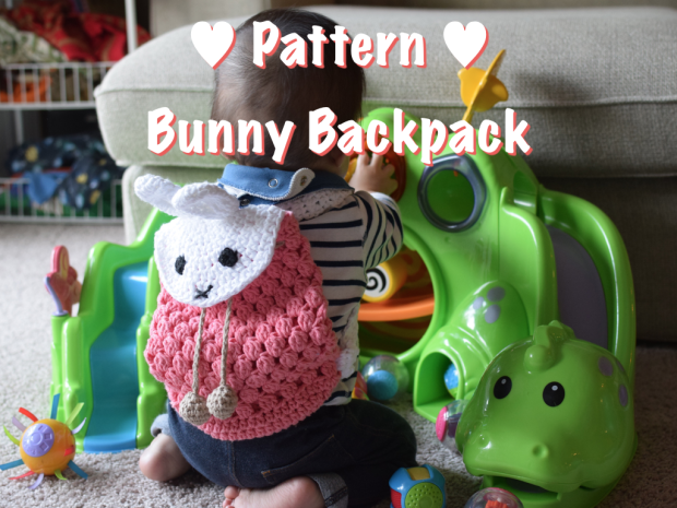 Crochet pattern Bunny Backpack