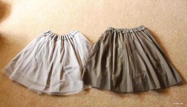 skirt -2 types