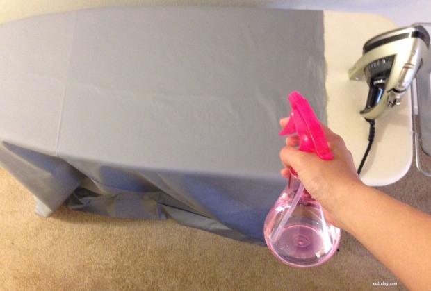 skirt- ironing