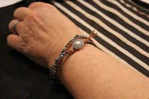 wrap bracelet (student work 1-1)