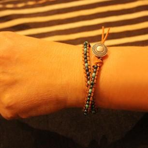 wrap bracelet (student's work)